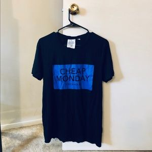 Cheap Monday Box Logo Bruce Tee Shirt